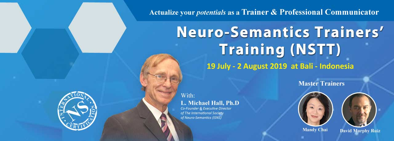 Neuro-Semantics Trainers' Training (NSTT)