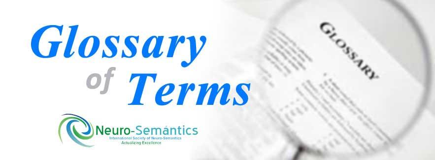 Daftar istilah yang ada di NeuroSemantics - NLP