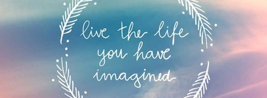 Live the Life You Imagined